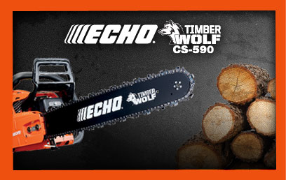 ECHO Timber Wolf CS-590