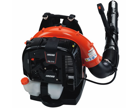 Echo pb 770t powerful tube mounted throttle backpack leaf blower